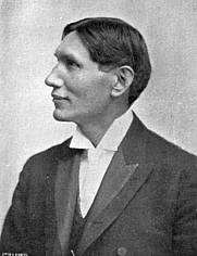 Author photo. From &quot;AMONG THE SIOUX A Story of The Twin Cities and The Two Dakotas,&quot; Creswell, 1906 <BR>(Project Gutenberg)