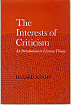 The interests of criticism; an introduction…