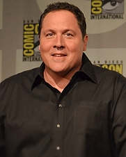 Author photo. Jon Favreau in 2012 [credit: Wikimedia Commons user Genevieve]