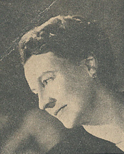 Author photo. Cut down scan from the back cover of Penguin No.779 (unattributed image)