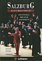 Salzburg - Kulturhandbuch 1996/97.…