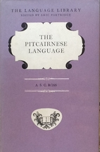 The Pitcairnese language by Alan Strode…