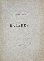 Balādes by Teodors Zeltiņš