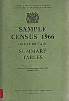 Sample Census 1966. Summary Tables by Office…