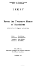 From the treasure house of Hassidism ; a…