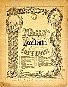 B. HARRIS & CO'S. EXCELLENTIA COPY BOOK by…