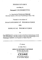 Prehistory According to Fernand Crombette by…