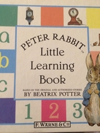 Peter Rabbit Little Learning Book by Beatrix…