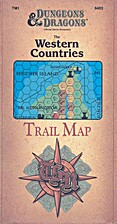 The Western Countries Trail Map by TSR Inc