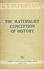 The Materialist Conception of History by…