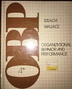 Organizational behavior and performance by…