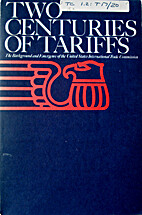 Two Centuries of Tariffs: The Background and…