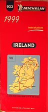 Michelin motoring and tourist map: Ireland…