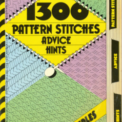 Mon Tricot 1300 patterns stitches, advice, hints; knitting dictionary by Mon ...