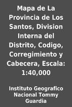 Mapa de La Provincia de Los Santos, Division…