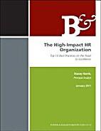 The High-Impact HR Organization: Top 10 Best…