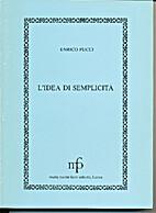 L' idea di semplicità by Enrico Pucci