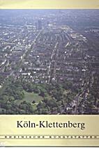 Köln-Klettenberg. by Fritz Hilgers