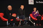 Author photo. La Scène des Auteurs conference with Ernest Pépin, François-Guillaume Lorrain, Johanna Luyssen at the Salon du Livre in Paris, France By Lionel Allorge - Own work, CC BY-SA 3.0, <a href=&quot;https://commons.wikimedia.org/w/index.php?curid=14668624&quot; rel=&quot;nofollow&quot; target=&quot;_top&quot;>https://commons.wikimedia.org/w/index.php?curid=14668624</a>