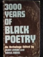 Three Thousand Years of Black Poetry: An…