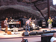 Author photo. Concert at Red Rocks, Colorado, July 4, 2006 (Photo credit: lonely moose, flickr name)