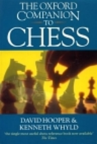 The Oxford Companion to Chess by David…