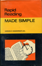 Rapid Reading (Made Simple Books) by Gordon…