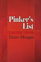 Pinker's List by Elaine Morgan