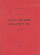 A checklist of English translations of…