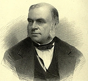 Author photo. John William Draper. Frontispiece from Scientific memoirs, being experimental contributions to a knowledge of radiant energy (1878)