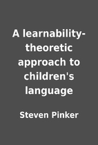 A learnability-theoretic approach to…