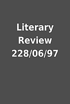 Literary Review 228/06/97