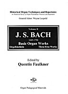 Historical Organ Techniques and Repertoire,…
