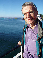 """Author photo. Ewan Campbell, author of """"Saints and Sea Kings"""""""