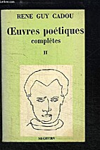 oeuvres poetiques completes II by CADOU…
