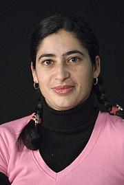 Author photo. María Reimóndez. Photo by Santos-Díez (Ollo de Vidro-ACAB).