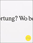 Das Buch der Fragen: Wo beginnt…