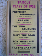 Famous plays of 1936