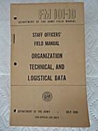 FM 101-10 Staff Officers' Field Manual,…