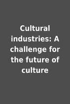 Cultural industries: A challenge for the…