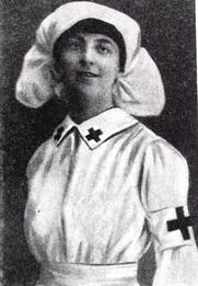 """Author photo. Nora Kinsky (aus """"Die Waffenlose Macht"""", Werden und Wirken des Roten Kreuzes)"""