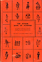 The Junior Book of Authors by Stanley Kunitz