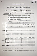 O Clap Your Hands by Ralph Vaughan Williams