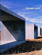 Donald Judd by Barbara Haskell