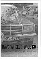 Have wheels, will go by Gracia Haby