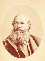 Author photo. Hablot Knight Browne photographed by Napoleon Sarony c.1870s