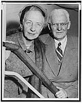 Author photo. Dr. Sara Jordan and husband, Penfield Mower/photo by Phil Stanziola: Library of Congress Prints and Photographs Division, New York World-Telegram and the Sun Newspaper Photograph Collection (REPRODUCTION NUMBER: LC-USZ62-122233)