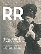 RR Fine Autograph & Artifact Auction…