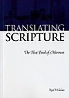 Translating Scripture: The Thai Book of…