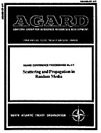 Scattering and Propagation in Random Media…
